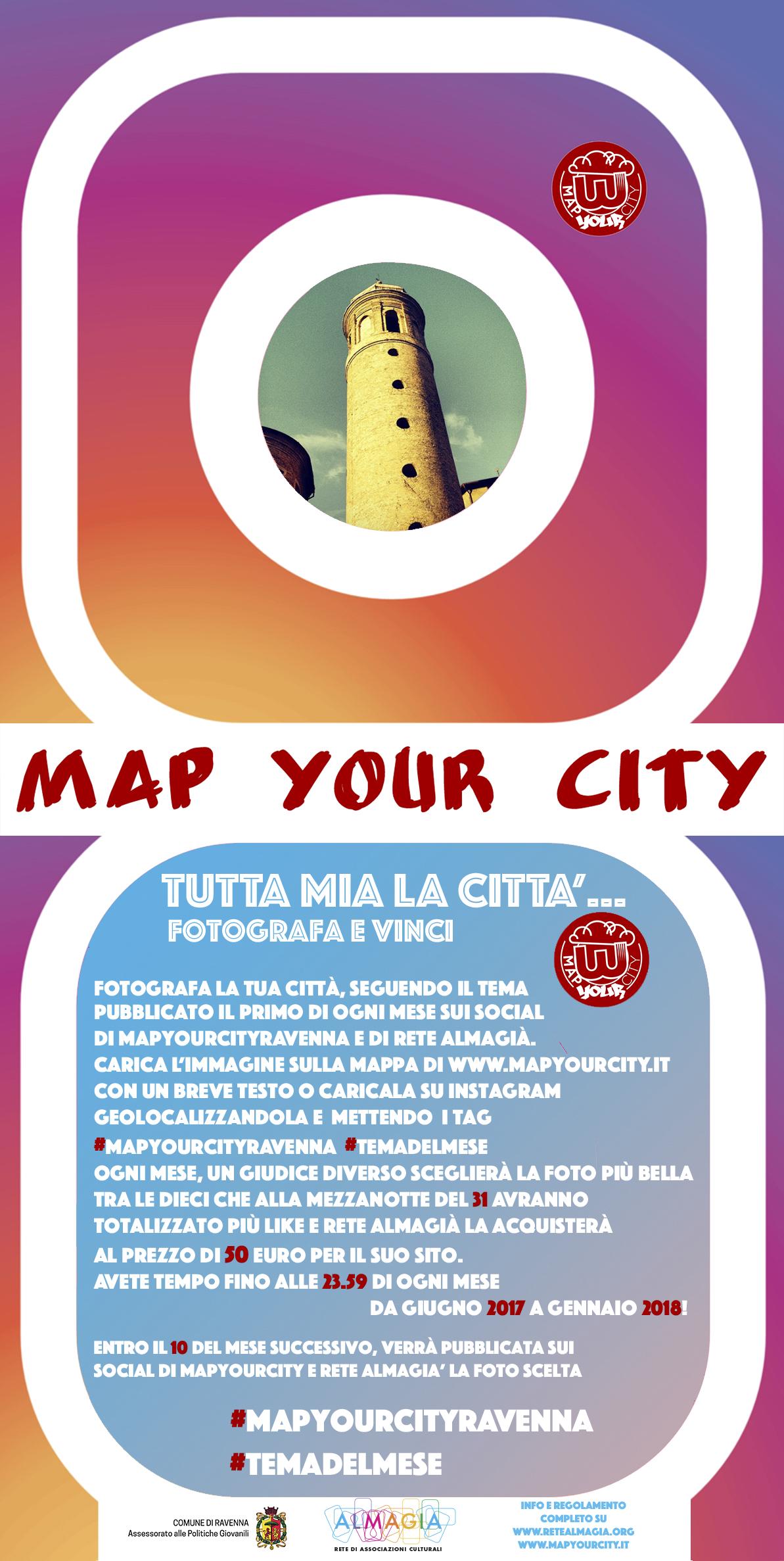 """Photo contest MapYourCity """"Tutta mia la città"""""""
